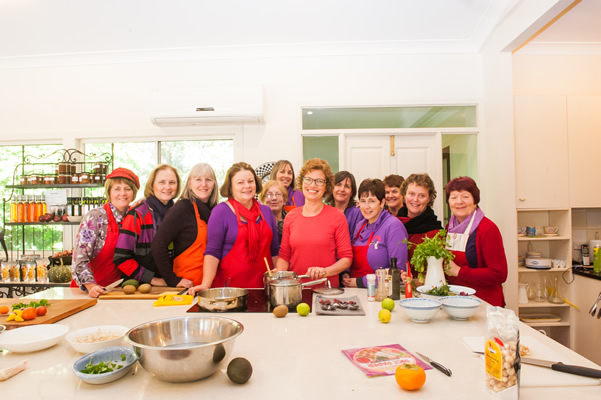 Join a class at Tamborine Cooking School