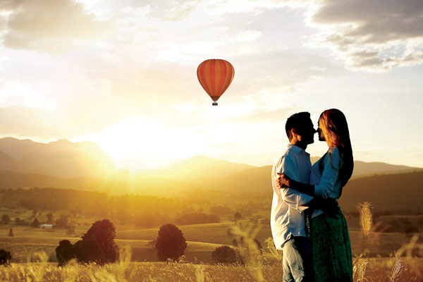 Hot Air Balloons in the Gold Coast Hinterland
