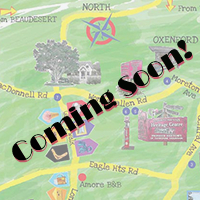 Coming Soon Notice Map Guides