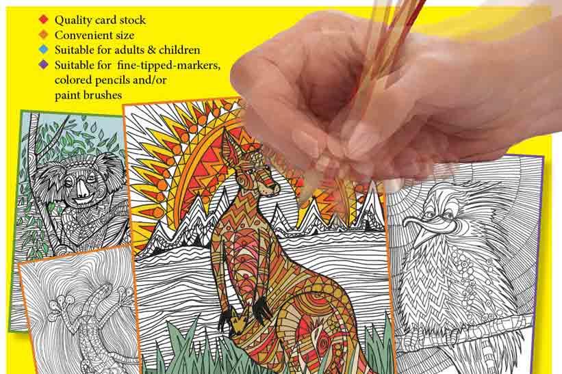 Colouring Calm Book