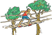 high-ropes-challenge