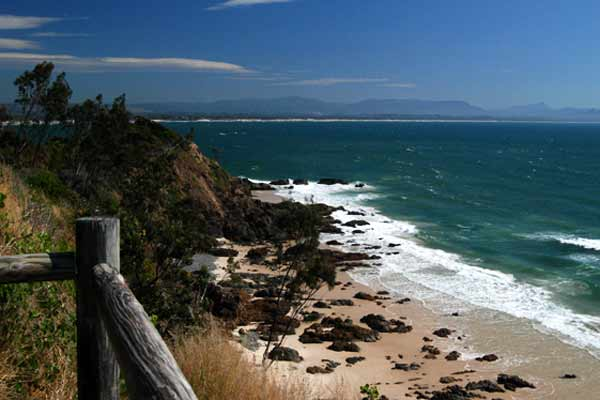 Coastline Byron Bay