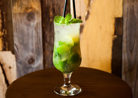 Cocktail Delight at Hickory Restaurant Bar