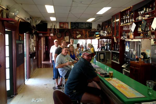 Locals at Mulgowie Hotel
