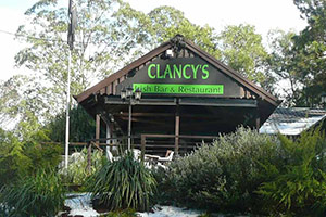 Entrance Clancys Irish Pub Restaurant