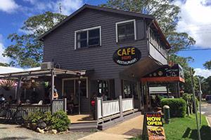 Exterior Spice of Life Cafe Tamborine Mountain