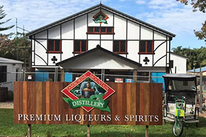 Building Tamborine Mountain Distillery