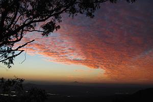 A beautiful Sunset from Tamborine Mountain