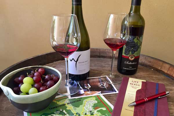 local wines to be sampled