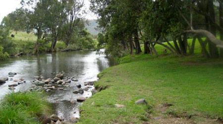 Albert River from DarlingtonPark