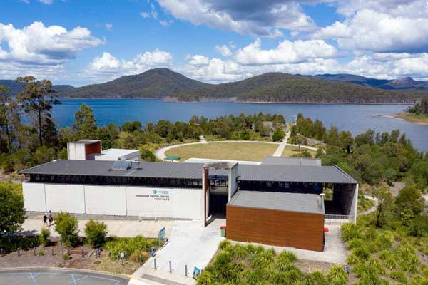 The View Cafe and Hinze Dam