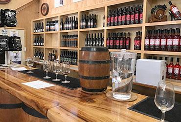 Cedar Creek Estate wine tasting bar